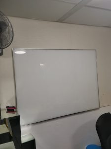 Extra Clear Glass Magnetic Board
